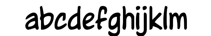Wurper Regular Font LOWERCASE
