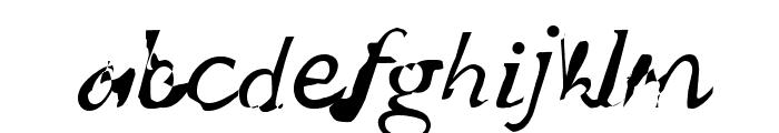 wuestling Font LOWERCASE