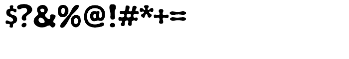 Wubble Regular Font OTHER CHARS