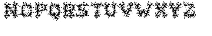 Wurst Hassen Font LOWERCASE