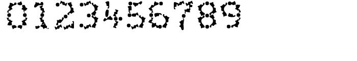 Wurstchen Splatted Font OTHER CHARS