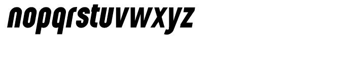 Wurz Black Italic Font LOWERCASE