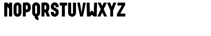 Wurz UP Black Font UPPERCASE