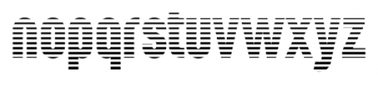 Wurz Display 01 one Font LOWERCASE