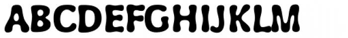 Wubble Font UPPERCASE