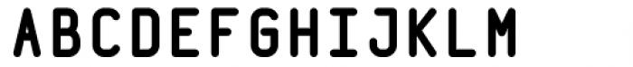 Wudoo Bold Font UPPERCASE