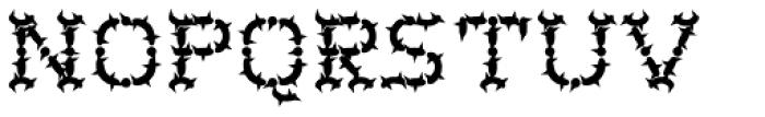 Wurst Cactus Font UPPERCASE