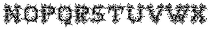 Wurst Hassen Font UPPERCASE
