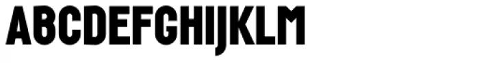 Wurz Black Font UPPERCASE