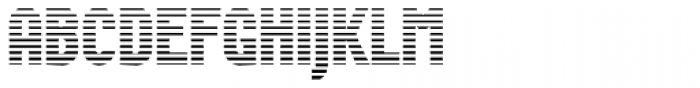 Wurz Display UP 1 Font UPPERCASE