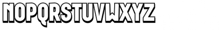 Wurz Display UP 2 Font UPPERCASE