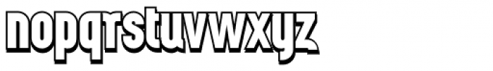 Wurz Display UP 2 Font LOWERCASE