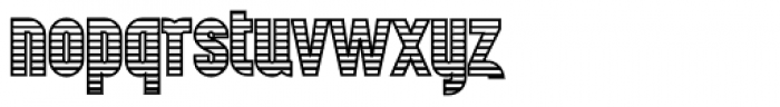 Wurz Display UP 4 Font LOWERCASE