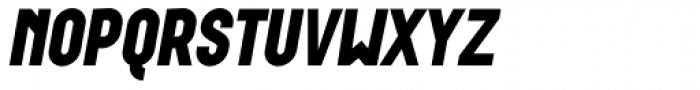 Wurz UP Black Italic Font UPPERCASE