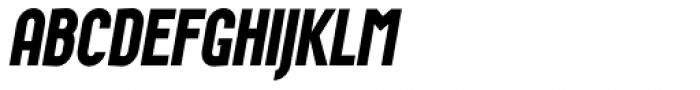 Wurz UP Bold Italic Font UPPERCASE