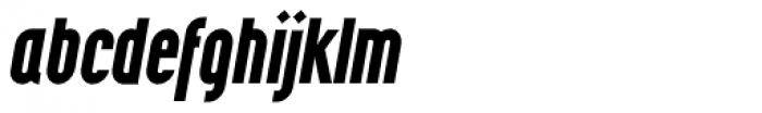 Wurz UP Bold Italic Font LOWERCASE