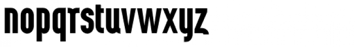 Wurz UP Bold Font LOWERCASE