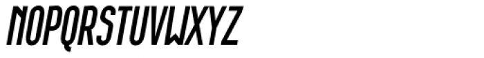 Wurz UP Book Italic Font UPPERCASE