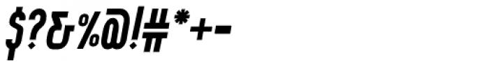 Wurz UP Medium Italic Font OTHER CHARS