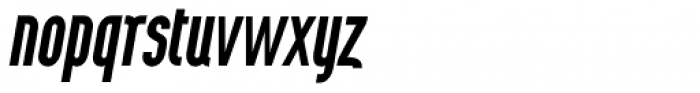 Wurz UP Medium Italic Font LOWERCASE