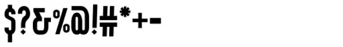 Wurz UP Medium Font OTHER CHARS