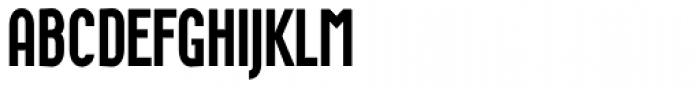 Wurz UP Medium Font UPPERCASE