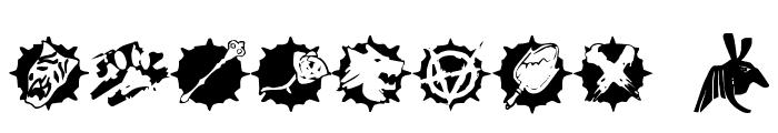 WW Vampire Sigils Font OTHER CHARS