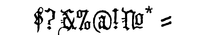 WW2 BlackltrAlt HPLHS Font OTHER CHARS