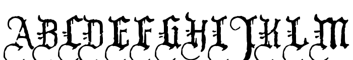 WW2Blackletter HPLHS Font UPPERCASE