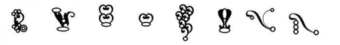 WWW Trinkets Font LOWERCASE