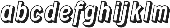 Wyvern Blocko otf (400) Font LOWERCASE
