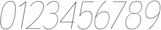 Wyvern UltraLight Italic otf (300) Font OTHER CHARS