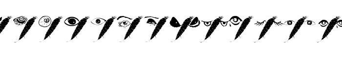 WysiwygBats Font UPPERCASE