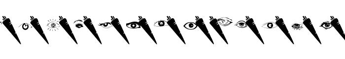 WysiwygBats Font LOWERCASE