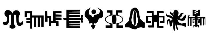 Wyvern's Soul Society Medium Font OTHER CHARS