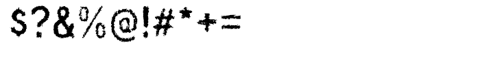 Wyvern Ink Font OTHER CHARS