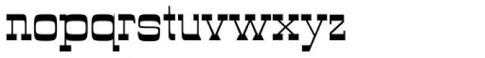 Wyoming Pastad Font LOWERCASE