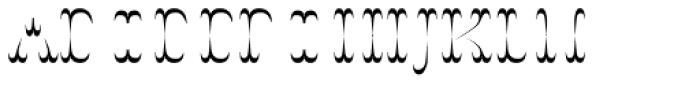 Wyoming Strudel Insert Font UPPERCASE