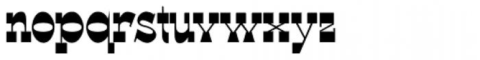 WyomingSpaghetti Bold Font LOWERCASE