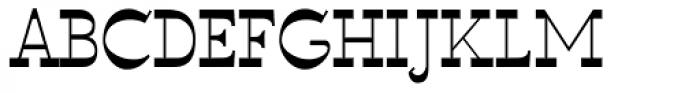 WyomingSpaghetti Plain Font UPPERCASE
