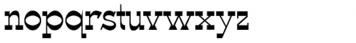 WyomingSpaghetti Plain Font LOWERCASE