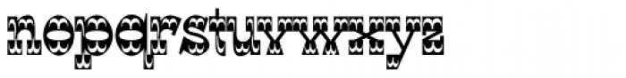 WyomingStrudel Font LOWERCASE