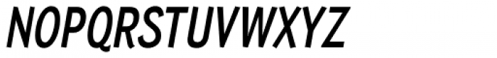Wyvern Bold Italic Font UPPERCASE