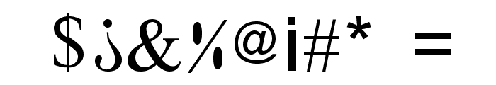 X-Cryption Font OTHER CHARS
