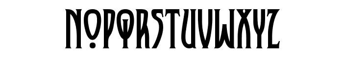 XAyax Font UPPERCASE