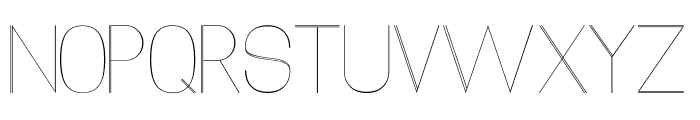 Xack Font UPPERCASE