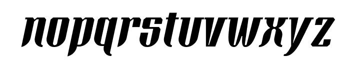 Xacose Italic Font LOWERCASE