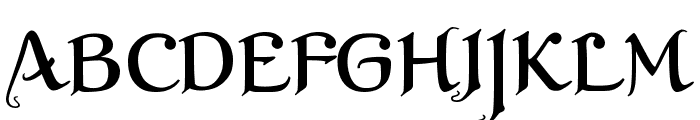 XalTerion Font UPPERCASE