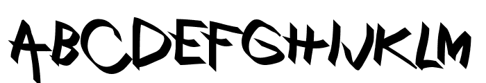 Xaligraphy Bold Font UPPERCASE