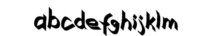 Xaligraphy Bold Font LOWERCASE